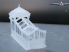 N Scale (1:160) Subway Kiosks (Set of 2) 3d printed Unpainted subway exit.