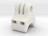 GoPro Style Curved Zip Tie Mount  3d printed