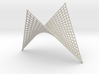 Hyperbolic-Paraboloid Doubly-Ruled Surface Structu 3d printed
