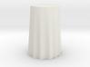 """1:24 Draped Bar Table - 30"""" diameter 3d printed"""