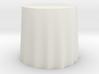 """1:24 Draped Table - 30"""" diameter 3d printed"""