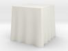"1:48 Draped Table - 24"" square 3d printed"
