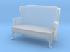 1:43 Queen Anne Wingback Settee 3d printed