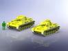 Panzer III/IV Einheitsfahrgestell 1/285 3d printed Add a caption...