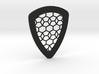 Tessellation Guitar Pick 3d printed