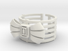 Caged Cuff 3d printed