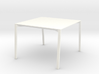 1:12 scale Modern Dining Table 3d printed