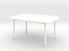 1:12 scale Branca Table 3d printed