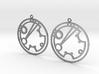 Shoshannah - Earrings - Series 1 3d printed