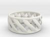 Twist Ring II 3d printed