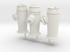 RhB Fire Hydrant set 3d printed