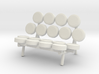 1:48 Nelson Marshmallow Sofa Couch 3d printed