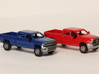 1:160 N Scale Chevy & Dodge Crew Cab Pickup Trucks 3d printed