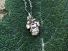 Jemma's Heart small 3d printed Jemma's heart turned into a pendant