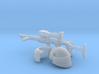 1:18 sci-fi Shock Trooper Kit 3d printed