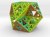 Sierpinski Cuboctahedron - large 3d printed