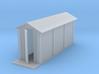 Prefabricated concrete relay hut - No Stand (HO) 3d printed