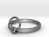 Horse Tie Ring - Sz. 5 3d printed