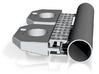 CNR/ PEIR S Scale Concrete Single Culvert 3d printed