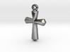 Simple Cross Pendant 3d printed