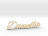 Daniella Name Pendant 3d printed