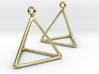 Fire earrings 3d printed