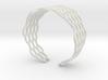 Mesh Bracelet - Large 3d printed