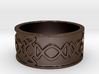Olden Wide Band Ring Size 8 3d printed