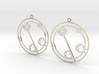 Claudia - Earrings - Series 1 3d printed