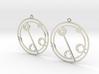 Claudia - Earrings - Series 1 3d printed