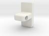 Towel Rod Rail End Support (12.7mm Diameter Rod) 3d printed