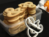 Ampersand typographic cookie cutter 3d printed Sugar cookies!