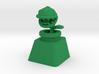 Piranha Plant Cherry MX Keycap 3d printed Custom Cherry MX Piranha Plant Keycap in Green Strong & Flexible plastic