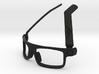 BoomGlasses 3d printed Black: Classic