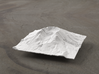 4'' Mt. St. Helens Terrain Model, Washington, USA 3d printed Radiance rendering