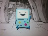 .mini BMO 3d printed photo - Full Color Sandstone
