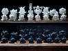Surreal Chess Set - My Masterpieces - The King 3d printed The Full Set
