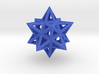 Small Stellated Dodecahedron 0.3 (inch) 3d printed