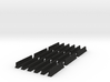 18 Jersey Barriers for 6mm, 1/300 or 1/285 3d printed