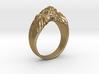 Lion Ring 3d printed