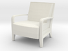 Serengeti Lounge Chair 1:12 scale 3d printed