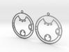 Kyra - Earrings - Series 1 3d printed