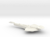 Cardassian Warship 3d printed