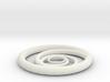 Orbiting Circle Pendant Single Loop 3d printed
