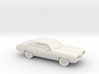 1/87 1966-69 Mercury Cougar 3d printed