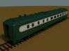 D&H Dining Car #151 (1/160) 3d printed Rendered in Blender