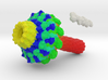 Bacteriophage Portal Complex 3d printed