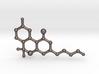 THC Molecule Keychain 3d printed