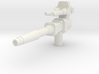 Legendary Gun: Pow-zap! (5mm handle) 3d printed