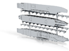 1/3000 Italian Aircraft Carriers 3d printed